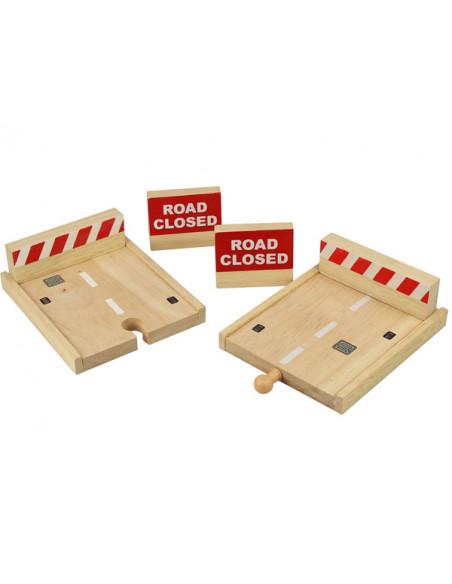 BigJigs houten Stootblokken