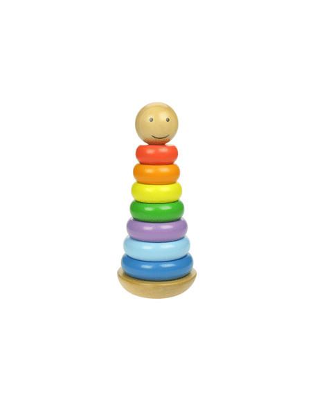 Stapeltoren Regenboog BigJigs BB098