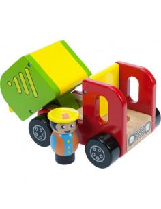 BigJigs houten Kiepwagen