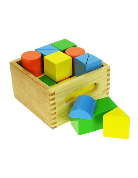 BigJigs houten Mijn Eerste Blokkenkistje