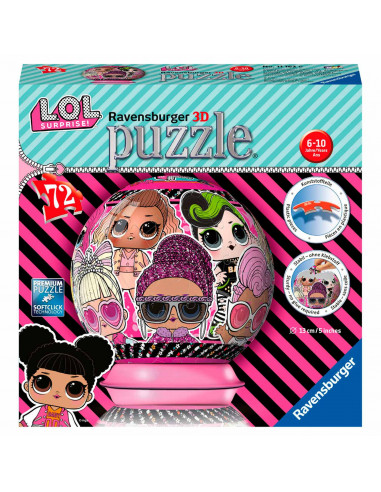 Ravensburger 3D Puzzel - Bal L.O.L....