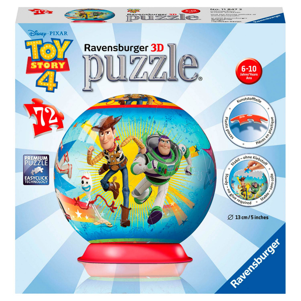 Puzzelbal Toy Story, 72st.