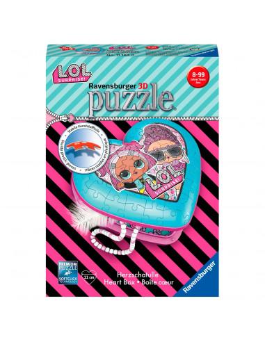 Ravensburger 3D Puzzel - Hartendoosje...