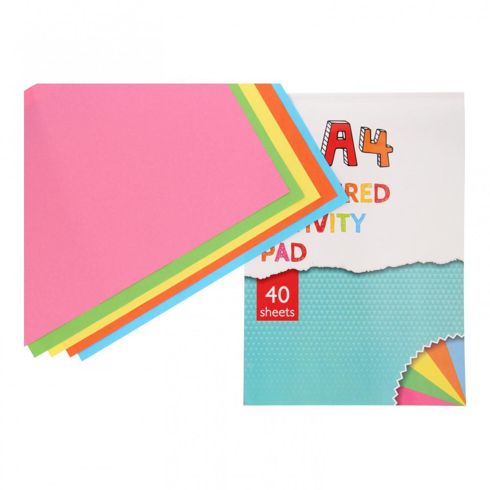 Gekleurd A4, 40 Sheets
