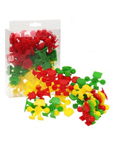Bouwvormen Dieren - Rood/Groen/Geel,...