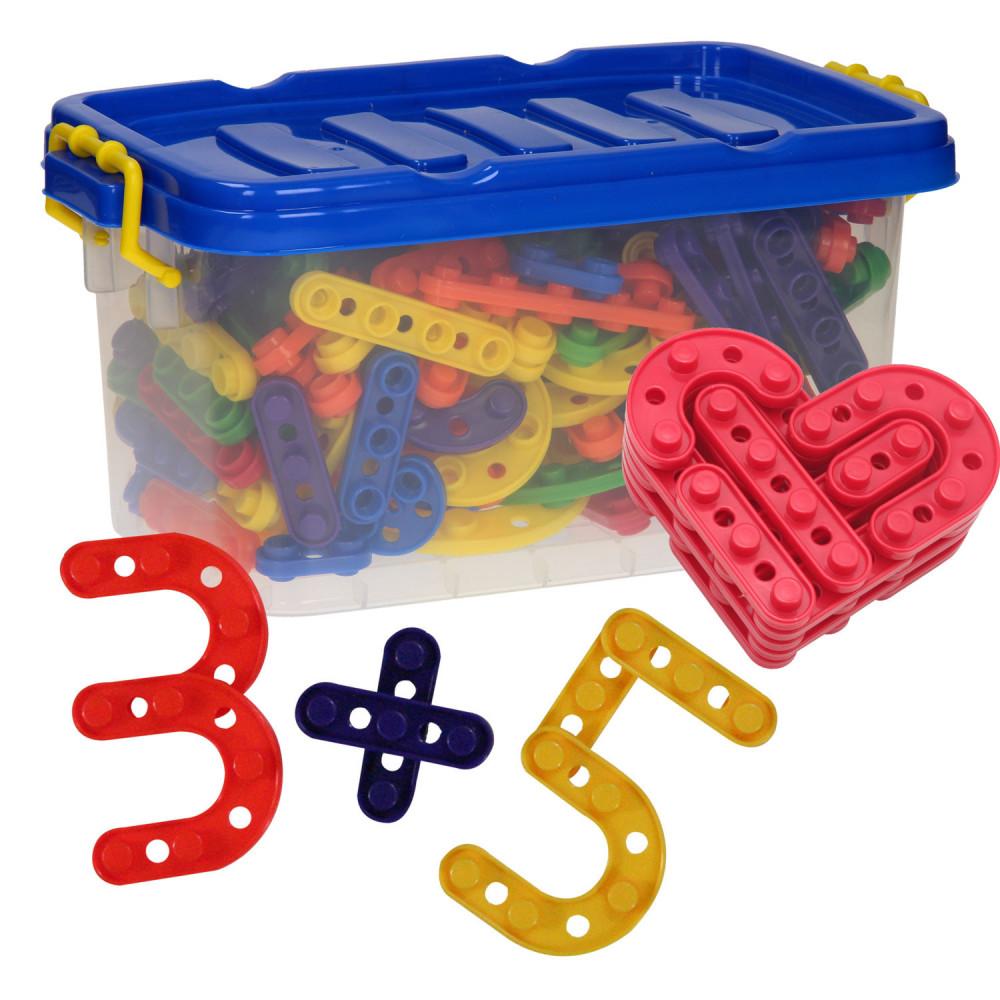 Bouwvormen Letters en Cijfers, 180dlg.