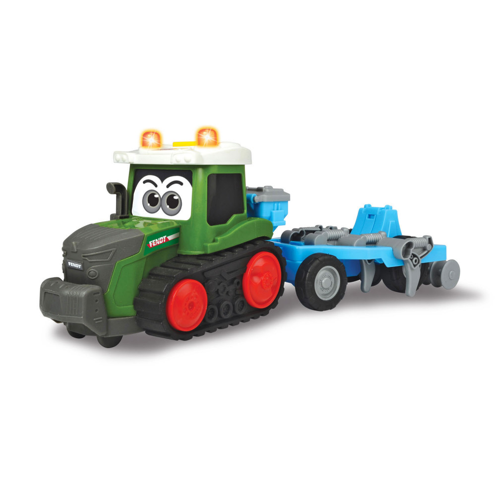Happy Fendt Tractor met Ploeg