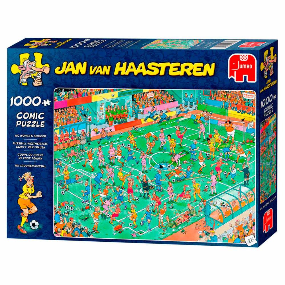 Jan van Haasteren Puzzel - WK Vrouwenvoetbal, 1000st.