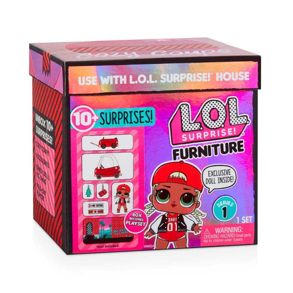 L.O.L. Surprise Furniture Pack - Cozy Coupe en MC Swag