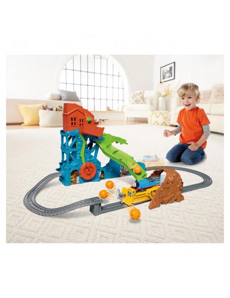Thomas de Trein TrackMaster - Grotinstorting Speelset