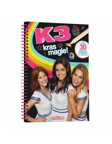 K3 Scratch Off Kleurboek