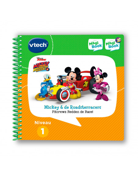VTech MagiBook - Mickey & The Roadster Racers