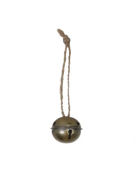 Hanger Dullo met Belletje Goud, 4,5cm