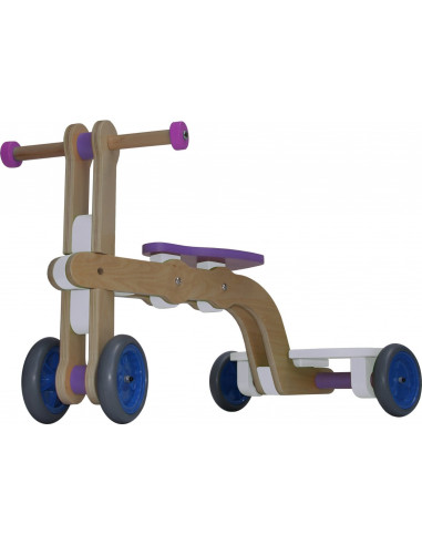 Mishidesign Surf Up Toy, Wit/Paars