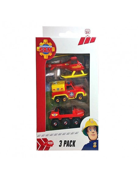 Brandweerman Sam Voertuigen, 3st.