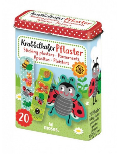 KrabbelkaFer Pleisters In Blik Groen...