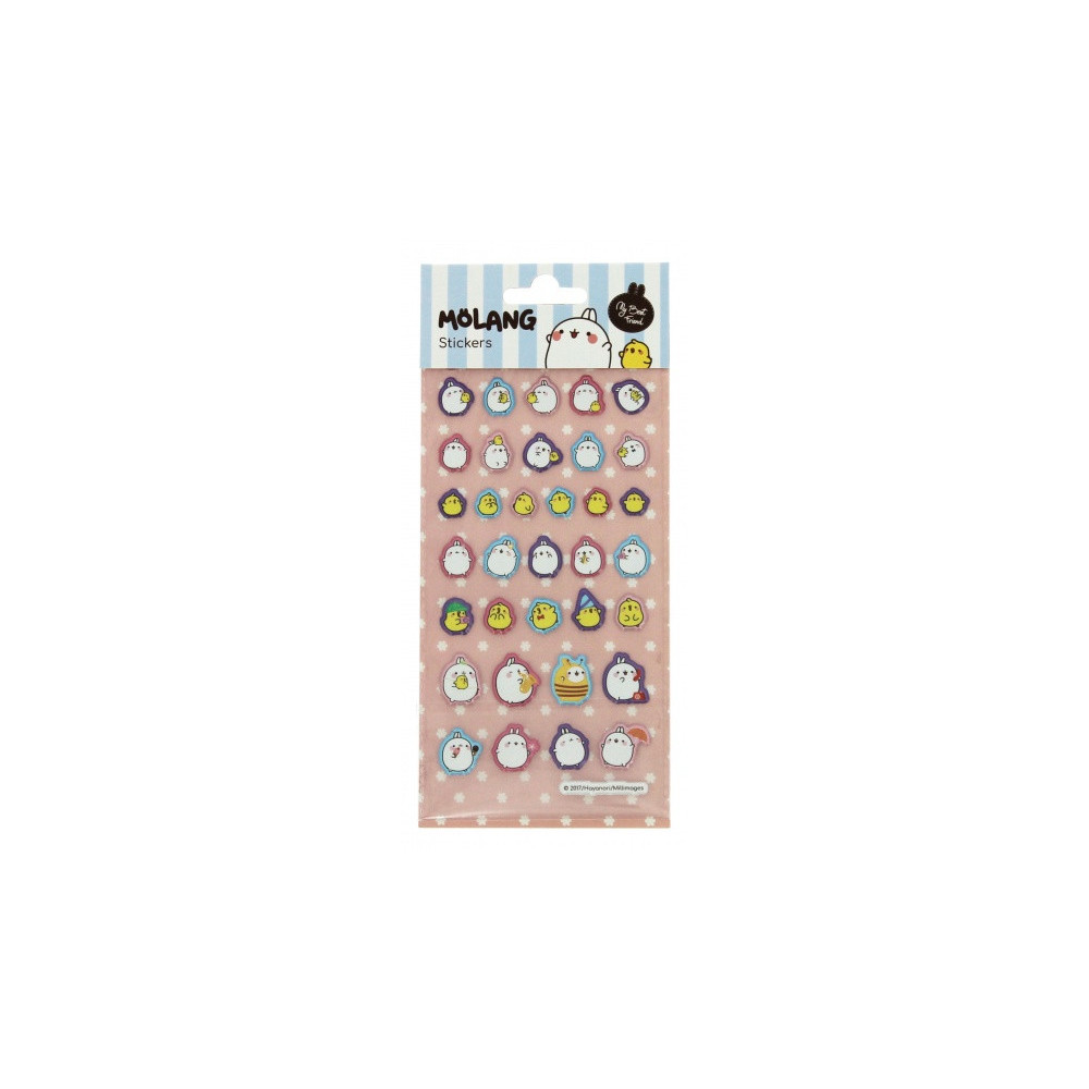 Stickers Molang 9,5 X 22 Cm