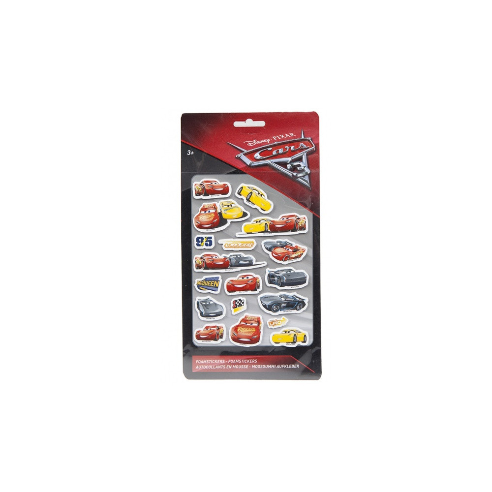 Cars 3 Foamstickers Large