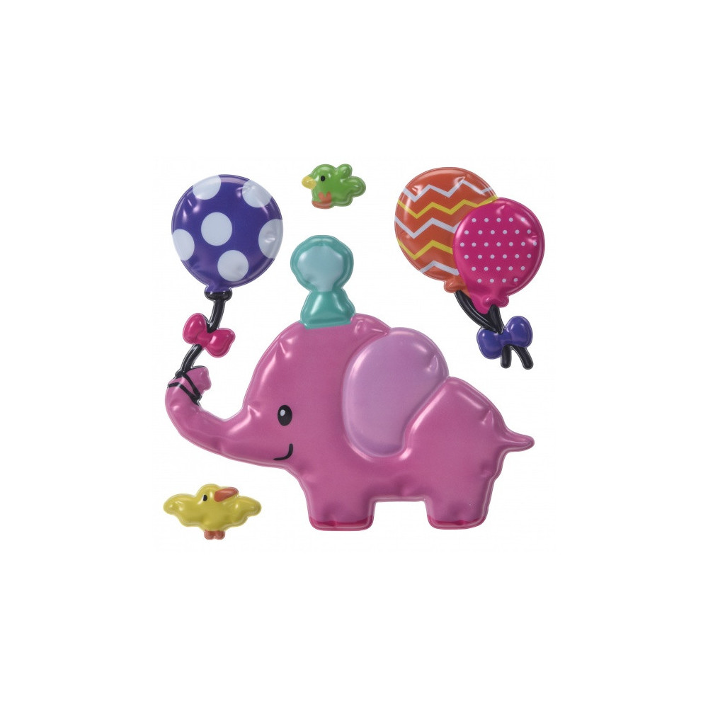 Stickers 3D Olifant 4-Delig
