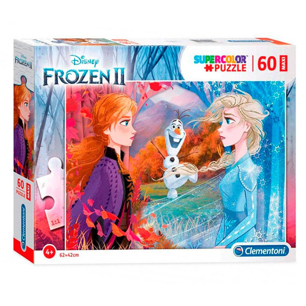 Clementoni Maxi Puzzel Disney Frozen 2, 60st.