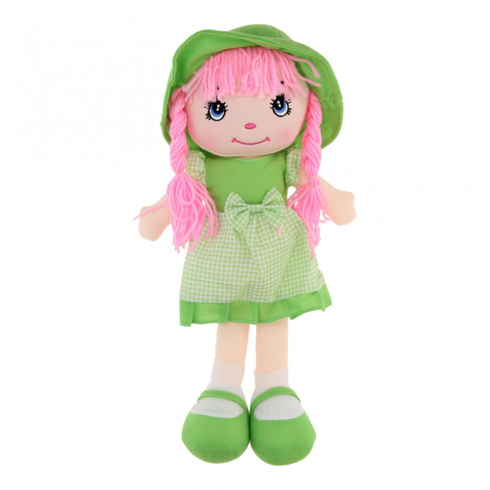 Lappenpop Meisje - Groen