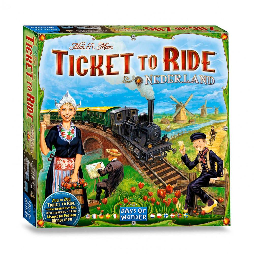 Ticket to Ride - Nederland Bordspel