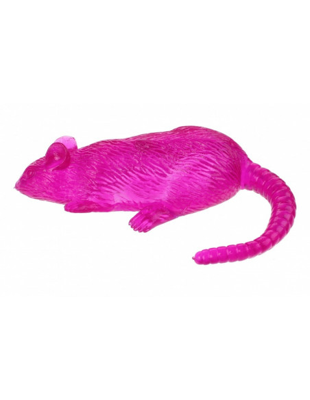 Flying Sticky Rat 20 Cm Paars