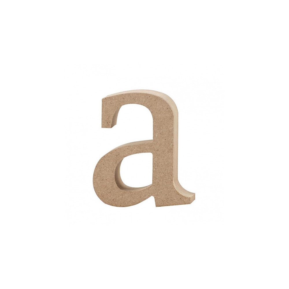 Letter A Mdf 8,2 Cm