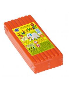 Boetseerklei Oranje, 500gr.