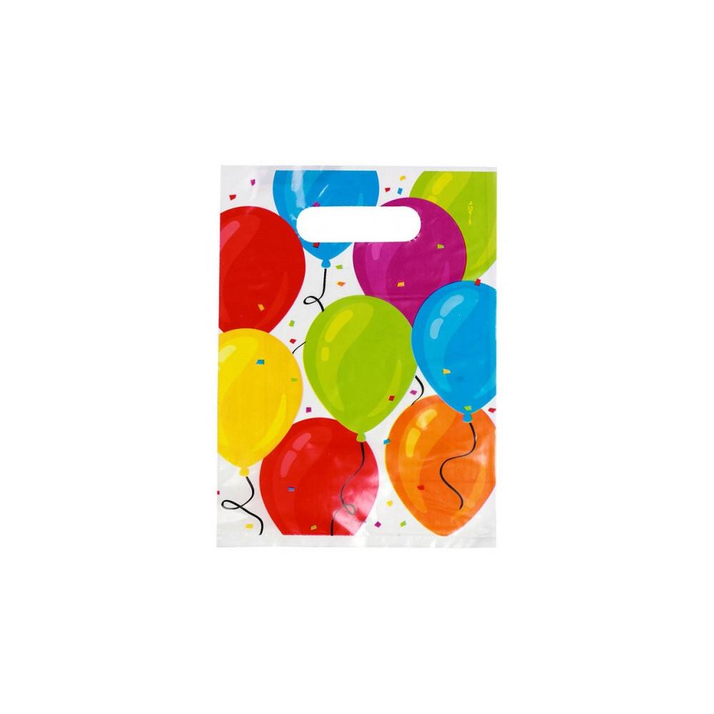Feestzakjes Ballonnen 23 X 17 Cm 6 Stuks