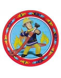 Brandweerman Sam Feestbordjes, 8st.
