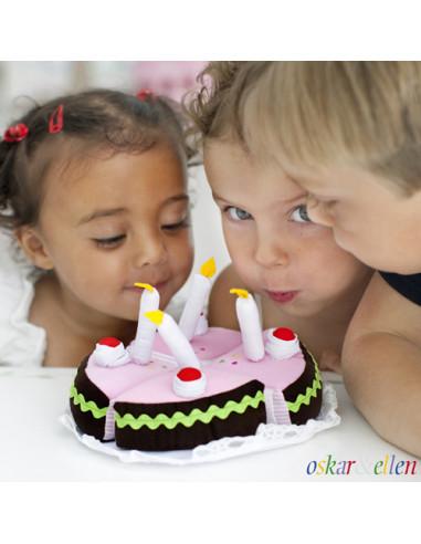 Oskar en Ellen Verjaardagstaart met...