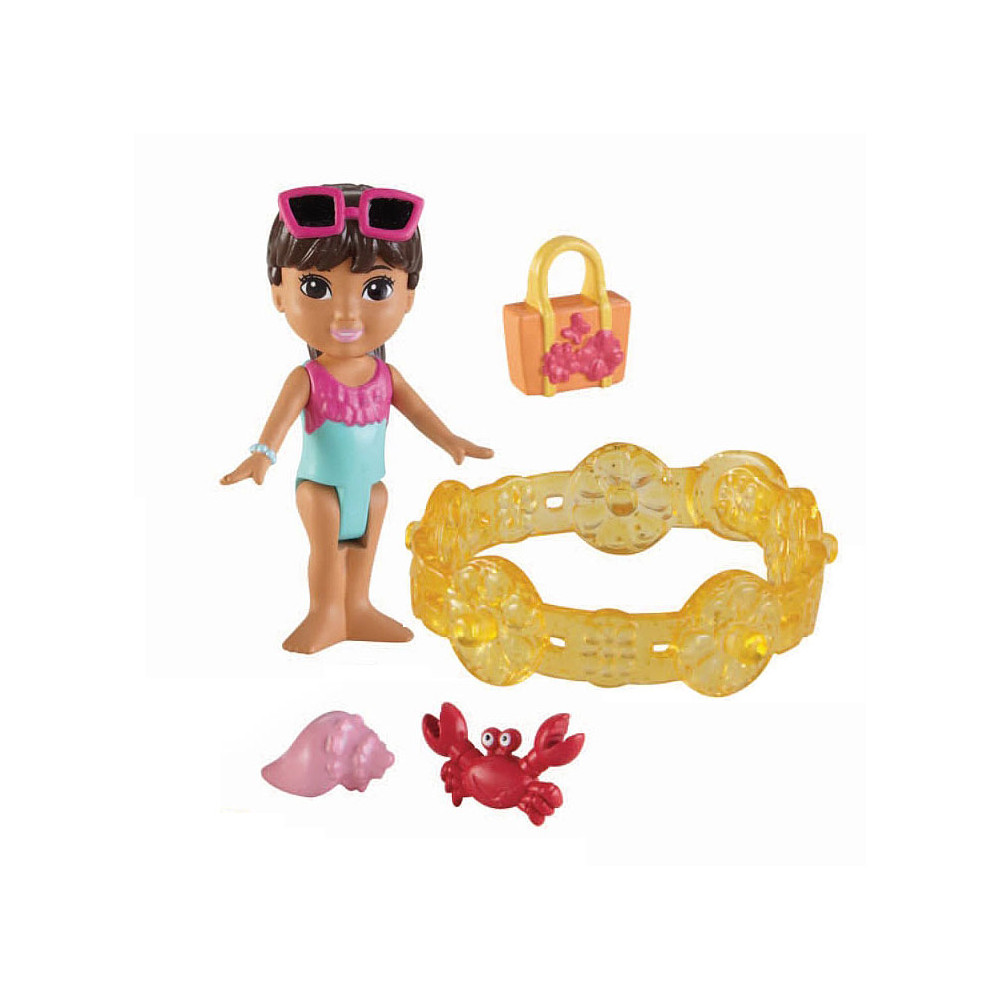 Fisher Price Dora & Friends Strand Avontuur - Dora