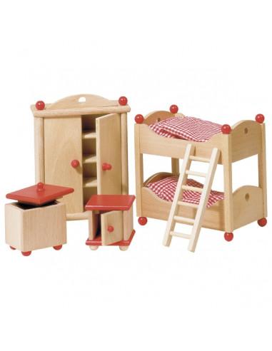 Goki Houten poppenhuis meubel...