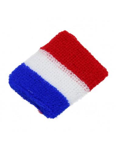 Zweetbandje Rood/Wit/Blauw