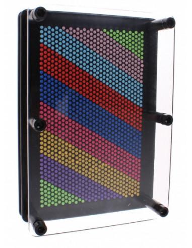 3d Pin Art Regenboog