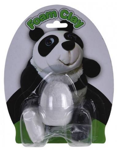Foam Clay-set Panda Wit 4-delig