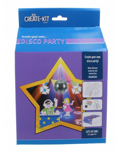 Knutselset Create Kit Disco Party