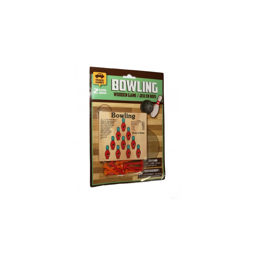 Reisspel Wooden Bowling Game