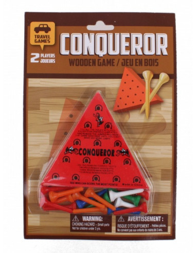 Reisspel Wooden Conqueror Game
