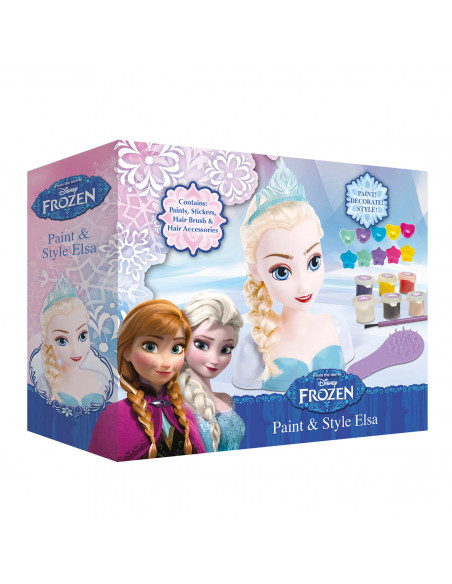 Disney Frozen Elsa Verf en Style Hoofd