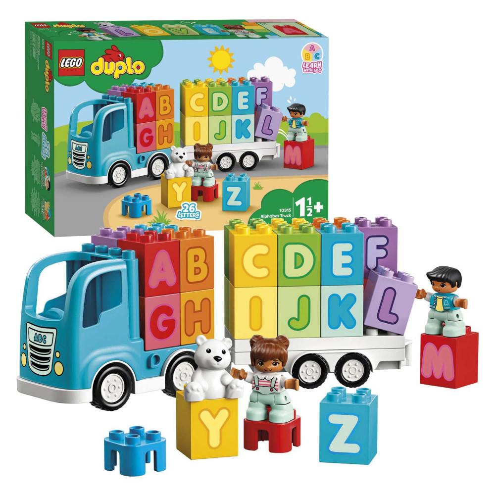 LEGO DUPLO 10915 Alfabet Vrachtwagen