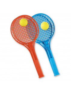 Tennisracket Junior Kleur met Bal