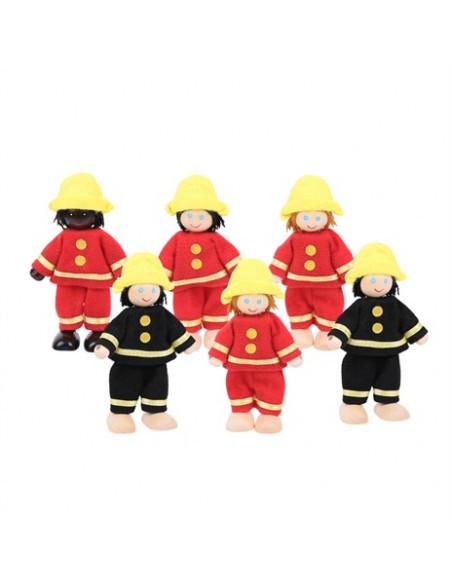 BigJigs Brandweermannen set