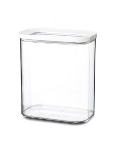 Bewaardoos Modula Wit, 1500 ml