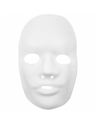 Masker 24 X 15,5 Cm Wit Kunststof