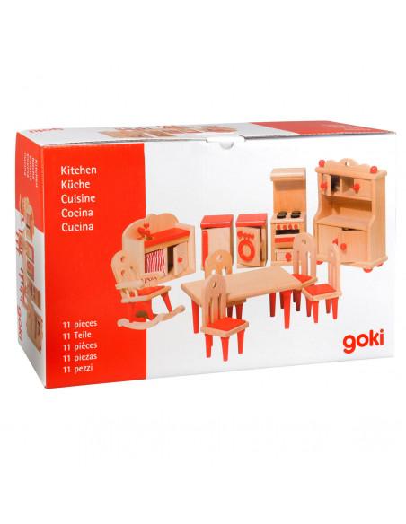Goki Houten keukenmeubels 11 delig