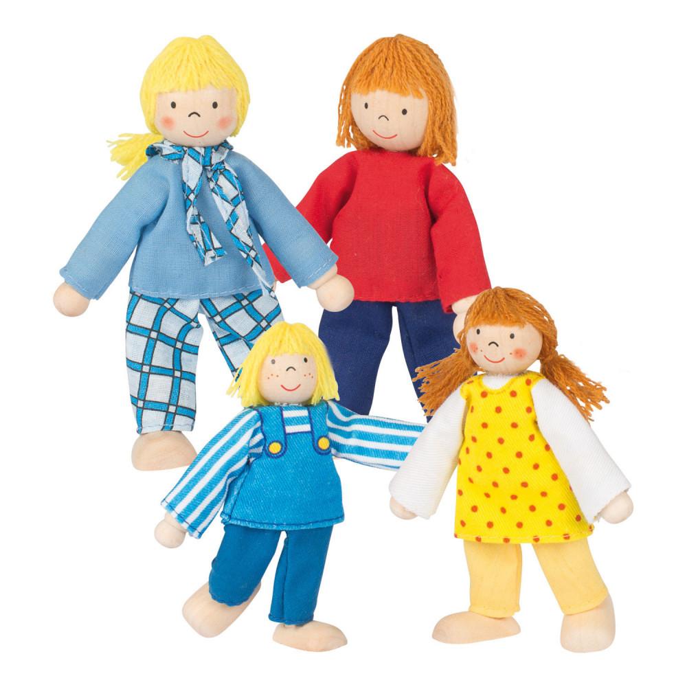 Goki poppenhuispopjes jonge Familie