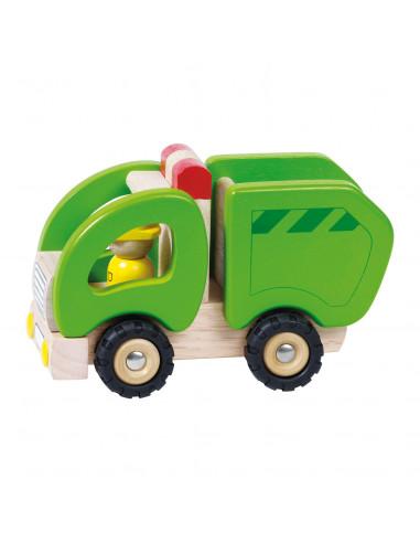 Houten Vuilniswagen