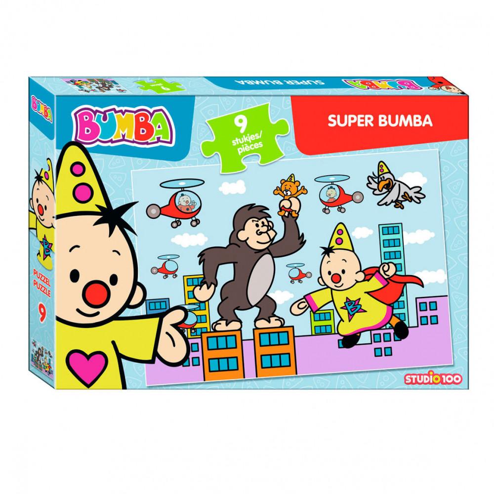 Bumba Puzzel Super Bumba, 9st.